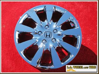 17 Honda Accord Chrome Wheels Rims Odyssey CR V Exchange 63919