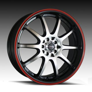 17 4x100 114 3 Civic SI Integra Mini Cooper Srim Wheels