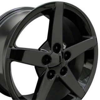 Black Corvette C6 Style Wheels Rims Fit Camaro SS 1994 2002