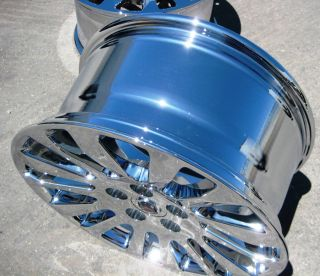 STOCK 4 18 FACTORY GM CADILLAC CTS COUPE CHROME WHEELS RIMS 2010 2013