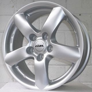 16 Jaguar s Type 2002 2006 Rial Oslo Silver Alloy Wheels 5x108