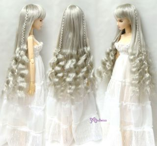 Mimi Collection Obitsu 1 6 Body Figure Dollfie Long Wavy Braids Wig