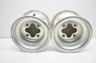 07 Honda TRX250EX 250EX 9 Rear Rims Wheels