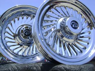 Harley Softail Fatboy Chrome Wheels 2007 2008 2009