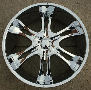 Incubus Nemesis 763 24 Chrome Rims Wheels Avalanche Sierra 6H