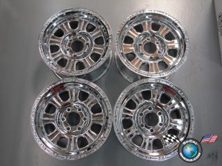 Raceline Monster Chrome 17 Wheels Rims Ford F150 Lifted +06mm 17x9