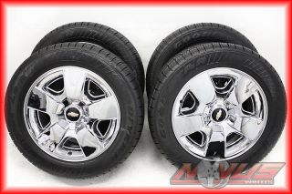 20 Chevy Silverado LTZ Tahoe Chrome Wheels Tires Yukon