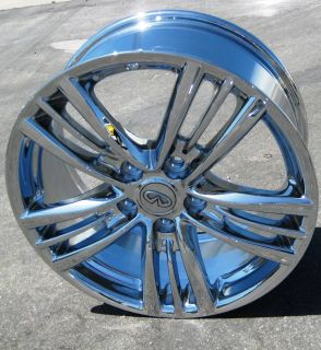Factory Infiniti G37 Chrome Wheels Rims G35 Maxima M35 Q45 350Z