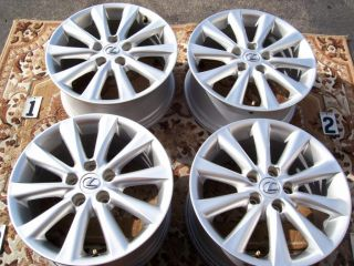 Lexus IS250 is350 17 Wheels Rims SC430 Stock Toyota Camry Highlander