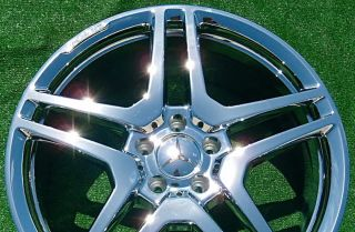 NEW Chrome OEM FORGED AMG Mercedes Benz S65 20 inch WHEELS S550 S63