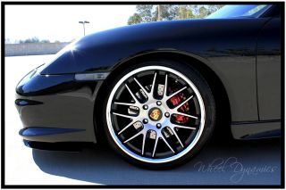 19 Concave Wheels porsche 996 997 991 Turbo C4S rims tires available