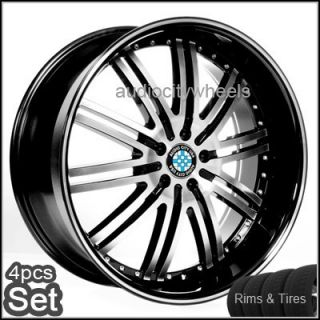 22 for BMW Wheels Tires Pkg D1 BM 6 7 Series x5 M6 Rims