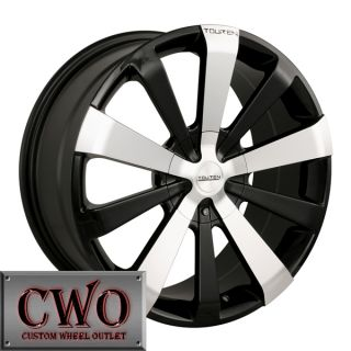 17 Black Touren TR2 Wheels Rims 5x112 5x120 5 Lug Passat Audi Mercedes