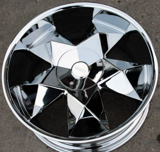 Greed Virtue 22 Chrome Rims Wheels GMC Acadia Traverse