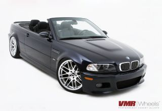 VMR 19 inch VB3 CSL Style Wheels Super Silver BMW 3 Series E46 330CI
