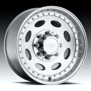 Machined Clear Coated Wheels Rims 8 Lug Chevy GMC 2500 3500 HD