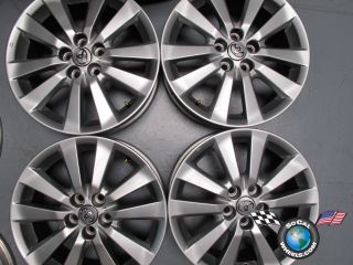Four 09 10 Toyota Corolla Matrix Factory 16 Wheels OEM Rims 69544