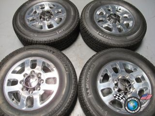 four 11 13 Chevy GMC HD 2500 HD2500 Factory 18 Wheels Tires OEM Rims