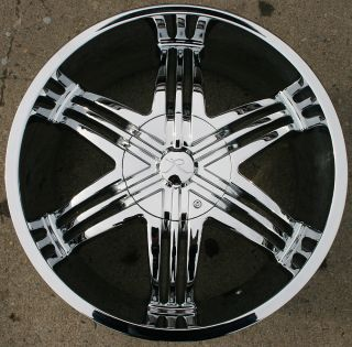 Sparus KR04 20 Chrome Rims Wheels Chevrolet Trailblazer