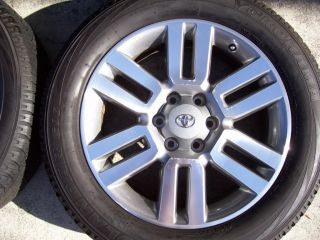 20 Wheels Tires Stock Factory Tacoma Tundra FJ 20 Rims Set4