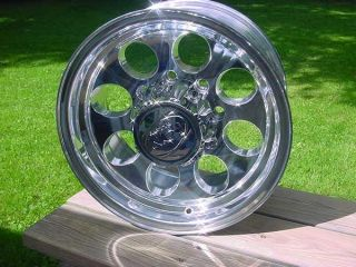 Ion 16x10 8 Lug Chevy Ford Wheels Dodge Mickey Style