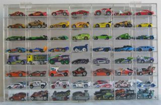 56 Hot Wheels 1 64 Scale Diecast Display Case Acrylic AHW64 56