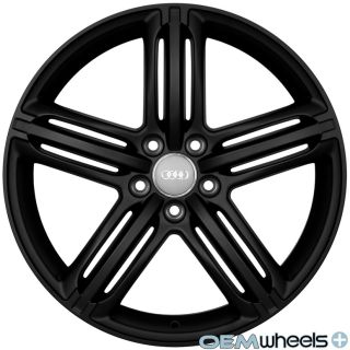 19 Matte Black Sline Style Wheels Fits Audi A5 S5 RS5 B8 8T Coupe