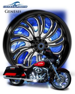 Genesis DS Custom Motorcycle Wheels Harley Streetglide Roadglide King