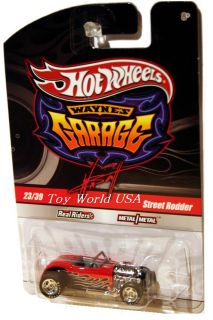 Hot Wheels Waynes Garage 23 Street Rodder Chase