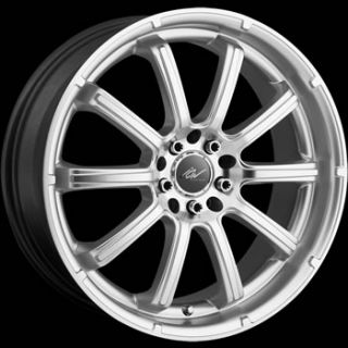18x7.5 Silver ICW Taboo Wheels 5x110 5x115 +42 BUICK LE SABRE REGAL