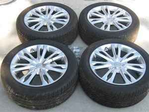 2011 Hyundai Genesis 18 Wheels Tires Set w TPMS