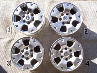 TOYOTA TACOMA TRD 16 WHEELS RIMS STOCK OEM FACTORY 16 WHEEL 4RUNNER