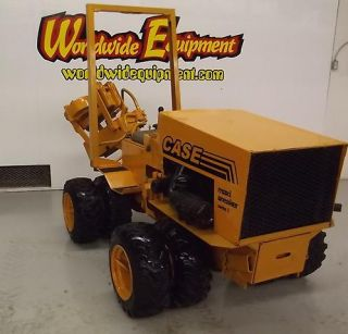 Case Maxi Sneaker 33HP Dual Wheels Diesel Engine Cable Plow Trencher