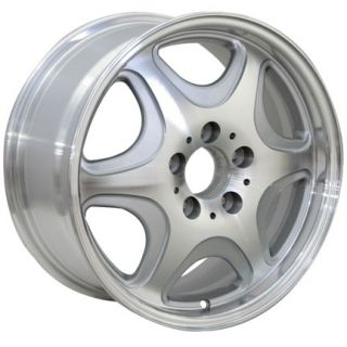 16 Silver Wheels Set of 4 Rims Fit Mercedes C E s Class SLK CLK CLS