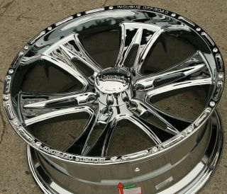 INCUBUS BRAWN 714 22 CHROME RIMS WHEELS TAHOE AVALANCHE / 22 X 9.5 6H