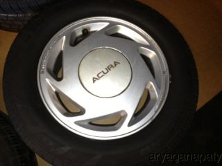 86 87 88 89 Acura Integra OEM wheels rims with tires STOCK factory 14