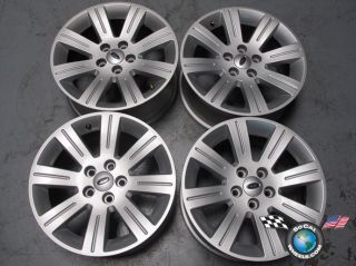 Four 09 11 Ford Flex Factory 17 Wheels Rims 3816 8A83 1007 AA