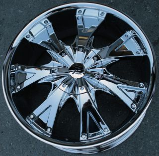 RVM 083 20 Chrome Rims Wheels Dodge RAM 1500 2WD 4WD