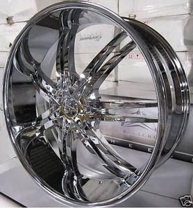 20 Wheels Rims Package Free Tires Bentchi B14 Triple Chrome 5x108