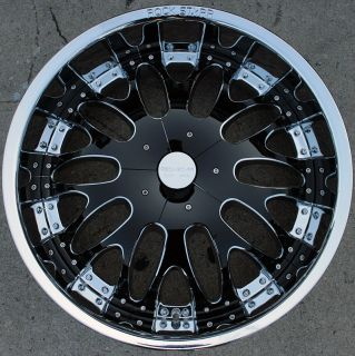 RVM 525 22 Chrome Rims Wheels Lincoln Navigator
