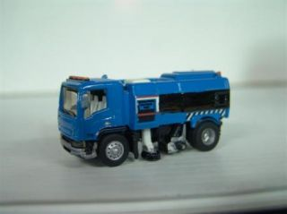 87 HO Scale Street Sweeper Truck Upgraded Wheels