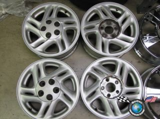 96 97 Ford Thunderbird Factory 15 Wheels OEM Rims 3740 3741