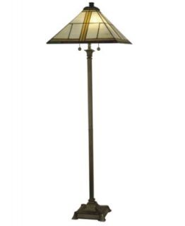 Dale Tiffany Floor Lamp, Mission Torchiere   Lighting & Lamps   for