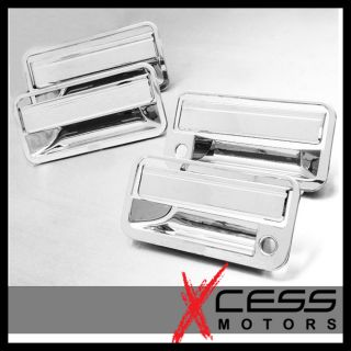 Chevy Suburban 4 Door Chrome Handles Cover 1995 1996 1997