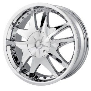18 inch MPW MP103 Chrome Wheels Rims 5x115 Challenger AWD Impala