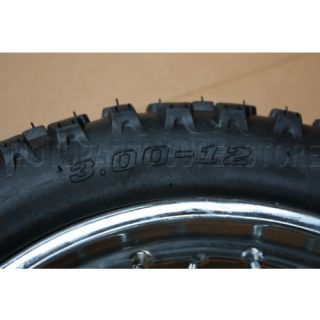 12 Rear Rim Wheel Honda XR50 CRF50 70cc 110cc 125cc Dirt Pit Bike