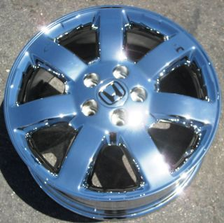 Factory Honda CR V CRV Chrome Wheels Rims Element Accord TL CRV