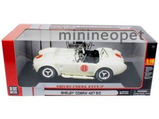 Collectibles 1965 Shelby Cobra 427 s C 11 1 18 Diecast Cream
