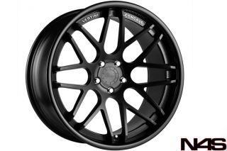911 996 CARRERA TURBO 4S GT3 VERTINI MAGIC BLACK CONCAVE RIMS WHEELS