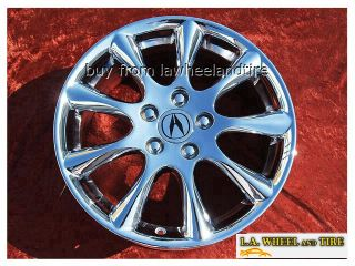 ACURA TSX OEM CHROME WHEELS RIMS INTEGRA TYPE R MDX RSX TL CL S 71750